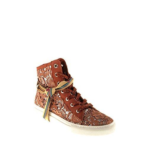 Felmini Damer Sko - Falde Berømmelse B021 - Sneakers - Real Tekstil - Rød Rød ESwpStYRf
