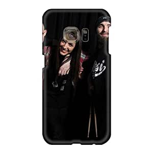 Protector Hard Phone Case For Samsung Galaxy S6 (VNb12385IFwD) Customized High-definition God Forbid Band Pattern