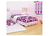 Rack Furniture Lindsay Twin Bed, Pink