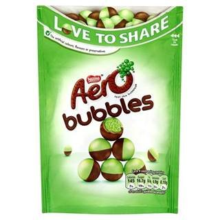 Aero Bubbles Mint Pouch 113G X Case Of 12