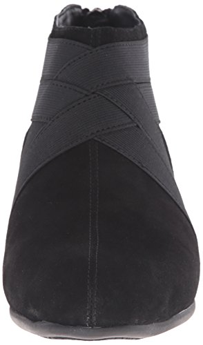Boot Latch Women's Trotters Suede Black qZxRSOwT