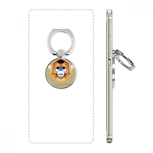nkey Animal Cell Phone Ring Stand Holder Bracket Universal Smartphones Support Gift ()