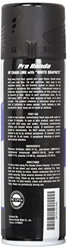 Honda Pro Chain Lube With White Graphite 15 oz.