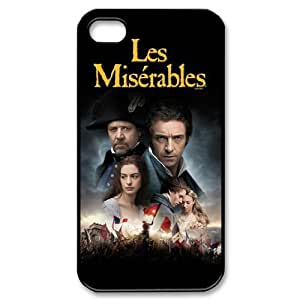 Performing Musicals - Les Miserables Printed iphone 4/4S case hard cover by Maris's Diary