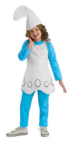 [The Smurfs Movie Child's Costume, Smurfette Costume] (Smurf Baby Costumes)