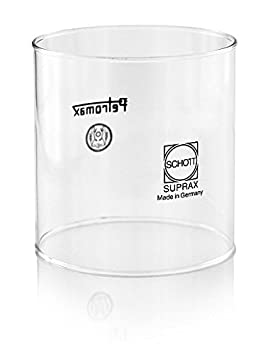 Petromax Repuesto Glaser de hochhitzefestem Vidrio borosilicatado de Firma Schott, Vertikal Mattiert g5v