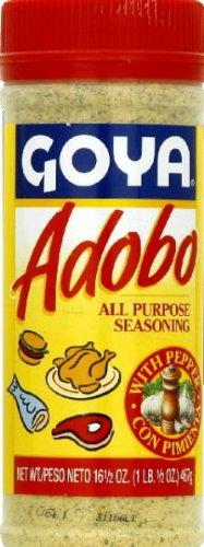 Goya, Adobo With Pepper, 16.5-Ounce
