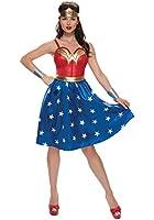Rubies Costume Co. Inc womens Deluxe Plus Size Long Dress Wonder Woman Costume