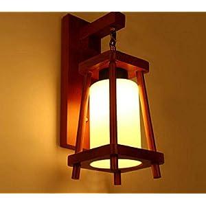 DECORVAIZ Light Wall Lamp, Brown