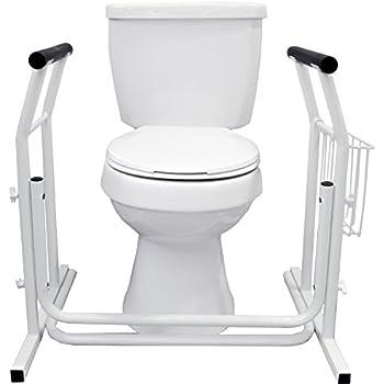 Superbe Vaunn Medical Bathroom Toilet Rail Grab Bar And Commode Safety Frame Handle