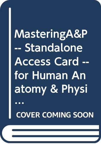 MasteringA&P -- Standalone Access Card -- for Human Anatomy & Physiology Laboratory Manuals