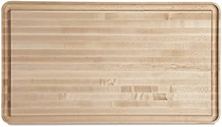 "product image for J.K. Adams Vermonter Carving Board, 30"" x 17"" x 11/2"", Maple"