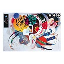 Posters: Wassily Kandinsky Poster Art Print - Dominant Curve (39 x 28 inches)