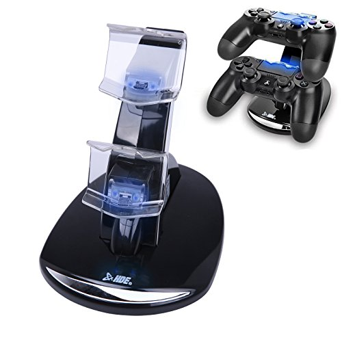 PS4 Controller Charger USB Charging Dock for PlayStation 4 / Slim / Pro DualShock 4 Controllers Dual USB Docking Station Fast Charging with LED Indicator Lights For Sale