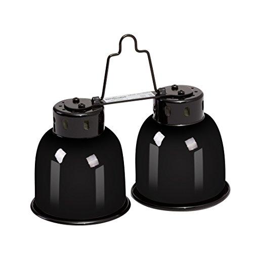 REPTIZOO Mini Combo Dome Dual Lamp Fixture by REPTIZOO