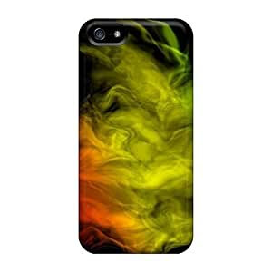 5/5s Scratch-proof Protection Cases Covers For Iphone/ Hot Colourful Smoke Phone Cases