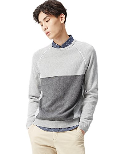 meters-bonwe-mens-fashion-round-neck-long-sleeve-color-block-knitted-sweater-grey-m
