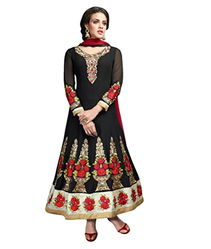 Unstitched Jay Bollywood Suit Sarees Salwar Diva R0R1wUqS