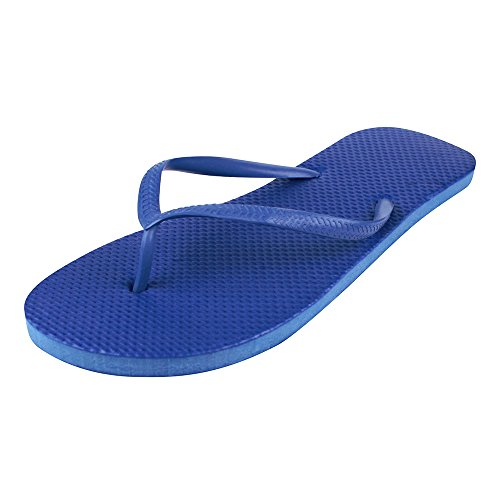 Unbekannt - Sandalias de Material Sintético para mujer Azul - azul
