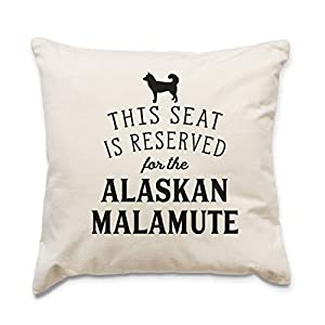 Affable Hound Reserved for The Alaskan Malamute - Cushion Cover - Dog Gift Present 4