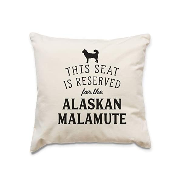 Affable Hound Reserved for The Alaskan Malamute - Cushion Cover - Dog Gift Present 1