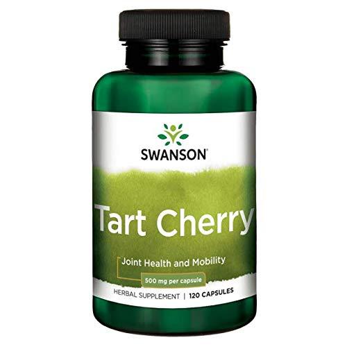 Swanson Tart Cherry 500 Milligrams 120 Capsules Review