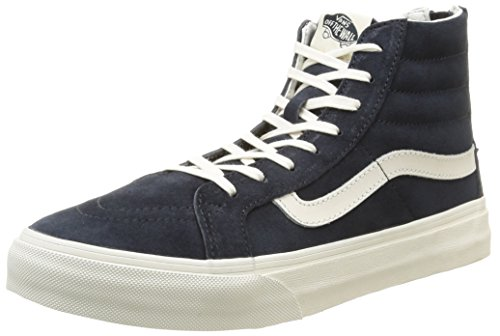 Vans U Sk8-Hi Slim Zip Scotchgard - Zapatillas bajas unisex Scotchgard/Blue Graphite