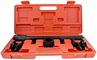 Inner Tie Rod Tool Set with Tie Rod Puller Tool and 3 Adapters Abn 1//2 Inch Drive SAE Inner Tie Rod Removal Tool Kit