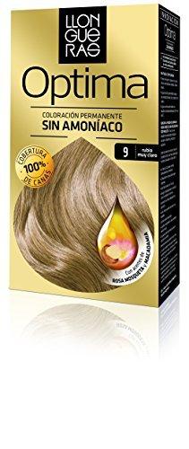 9.0 Very Light - LLONGUERAS OPTIMA hair colour #9.0-very light blond by Llongueras
