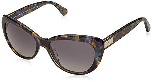 Kate Spade Emmalynn/S Sunglasses Color 0JBW WJ Blue - Sunglasses Color Havana