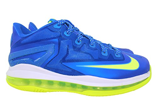 Nike Air Max Lebron XI Low (GS) Boys Basketball Shoes 644534-400 Blue 5.5 M US by NIKE