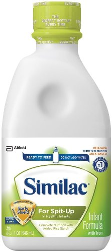 Similac for Spit-Up Baby Formula with Iron - Ready to Fee...