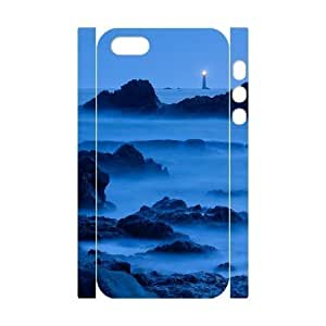 ALICASE Diy Customized Case Lighthouse 3D Case for iPhone 5,5S [Pattern-4]