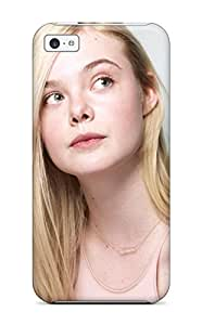 7748038K62185522 Durable Case For The Iphone 5c- Eco-friendly Retail Packaging(elle Fanning 2014)
