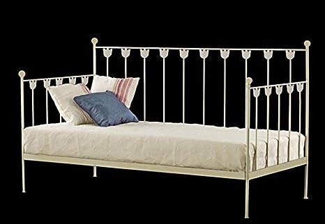 Decoración beltrán divano letto in ferro battuto modello