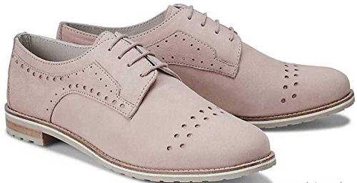 Lacets Femme Mattea De Pour Ville À Rose Chaussures x64qB