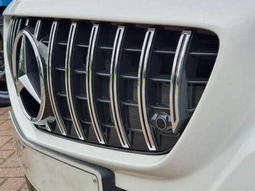 R172 SLK Panamericana Gitter AMG Schwarz mit Chrom Stangen Nicht Passend f/ür SLC