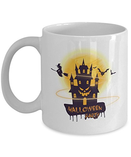 Halloween Party Coffee Mug (11oz) - Celebrity Halloween Costumes 2016 Ideas