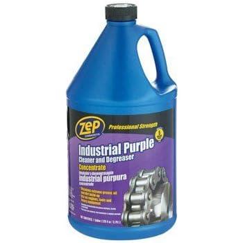 ZEP Industrial Purple Cleaner   Degreaser Concentrate  1 Gallon  128 Fl. Amazon com  ZEP Industrial Purple Cleaner   Degreaser Concentrate