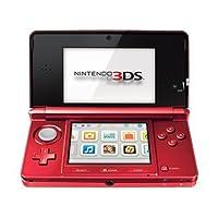 Nintendo 3DS - Flame Red (Renewed)