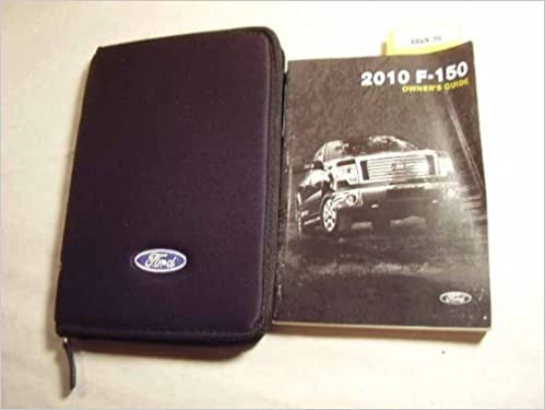ford 2010 f150 owners manual