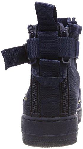 Obsidian Mid 101 SF Pelle Uomo Air Nike Force 1 Black Blu Bianco e in 400 Obsidian Tessuto 917753 Wmns Scarpe qgwUFp