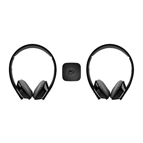 mee audio connect universal dual headphone bluetooth. Black Bedroom Furniture Sets. Home Design Ideas