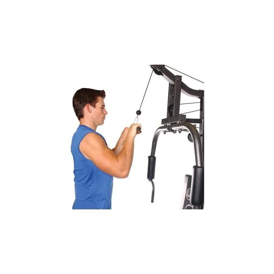 CAP Barbell FM H1005 Value Home Gym with 150 Lb Cement Weight Stack
