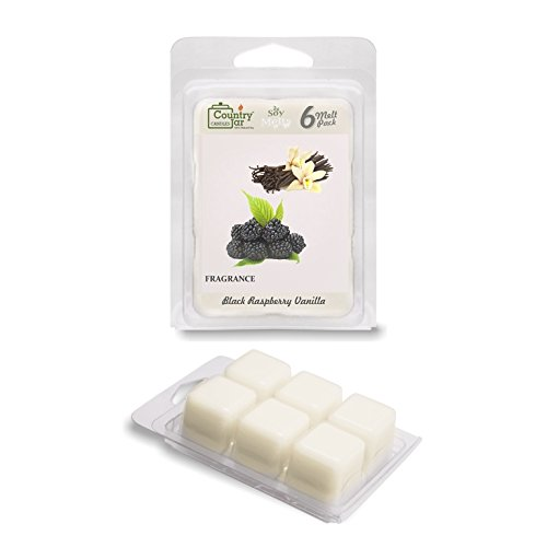 Country Jar Black Raspberry Vanilla Soy Wax Melts (2.75 oz.) / 20 Percent of 3 or More Sale!