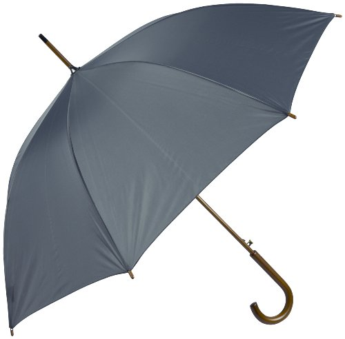 Haas-Jordan by Westcott Fashion Golf Umbrella Gray 48-Inch
