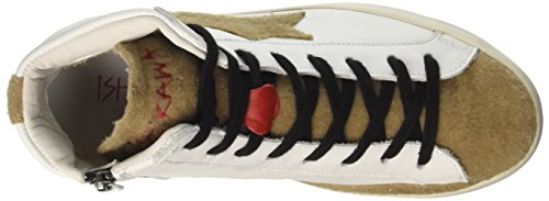 reliable cheap online Ishikawa Unisex Adults' 1239 Hi-Top Trainers White (Bianco 1239) cheap under $60 discount authentic xaKZtyIp