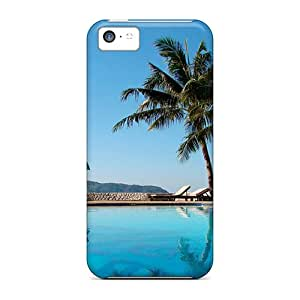 Hot Tpye Pool Palm Hotel Sports Free Desktop Case Cover For Iphone 5c