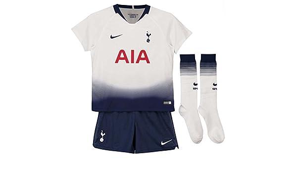 Nike 2018-2019 Tottenham Home Little Boys Mini Kit: Amazon.es ...