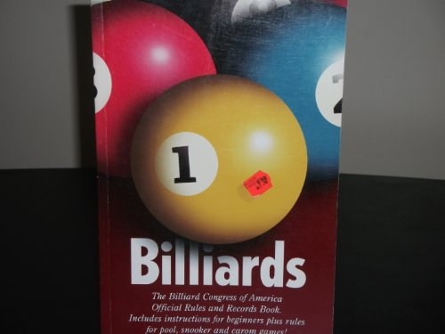 Billiards: The Official Rules & Records Book 1997